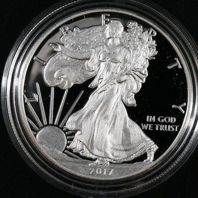2017-W American Silver Eagle Proof Bullion Coin