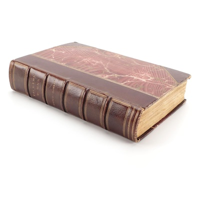 """Illustrated """"Little Dorrit"""" by Charles Dickens, Mid-19th Century"""