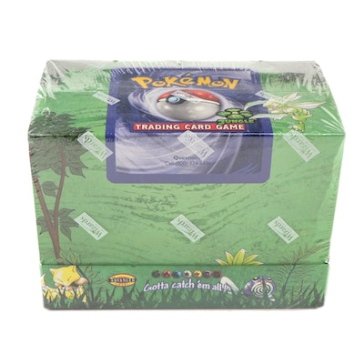 1999 Pokémon Cards Jungle Set Preconstructed Theme Decks in Factory Sealed Box