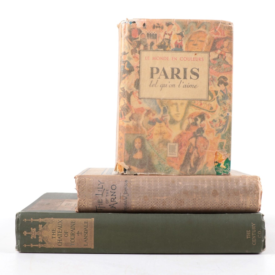 """First Edition """"The Châteaux of Touraine"""" by Maria Hornor Lansdale and More"""
