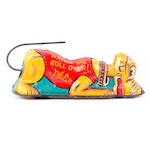 """Walt Disney, Prod. Pluto """"Watch Me Roll Over"""" Tin Lithograph Wind-Up Toy, 1939"""
