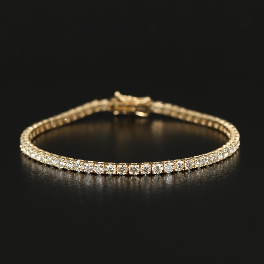 18K 4.90 CTW Diamond Bracelet