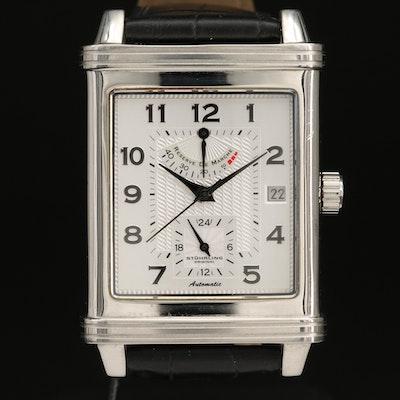 Stührling Lexus Stainless Steel Automatic Wristwatch