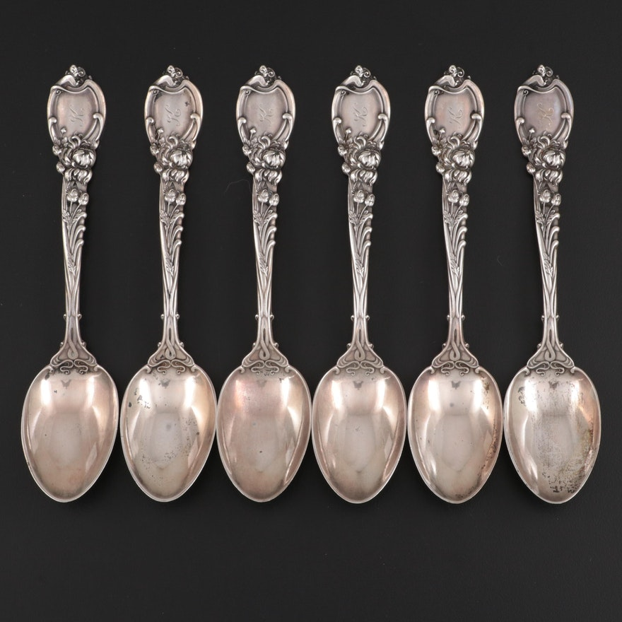 """Reed & Barton """"La Parisienne"""" Sterling Silver Spoons, Early 20th Century"""