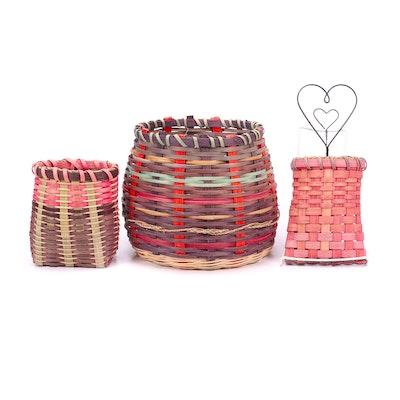 Handwoven Artisan Decorative Baskets