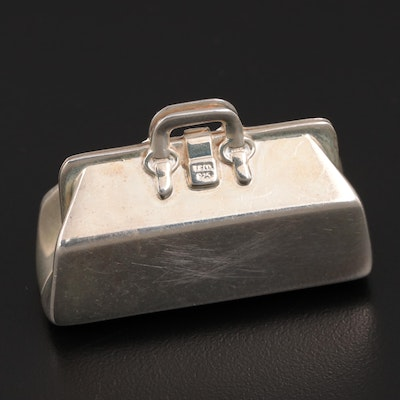 Petri Firenze for Tiffany & Co. Sterling Silver Doctor's Bag Pill Box