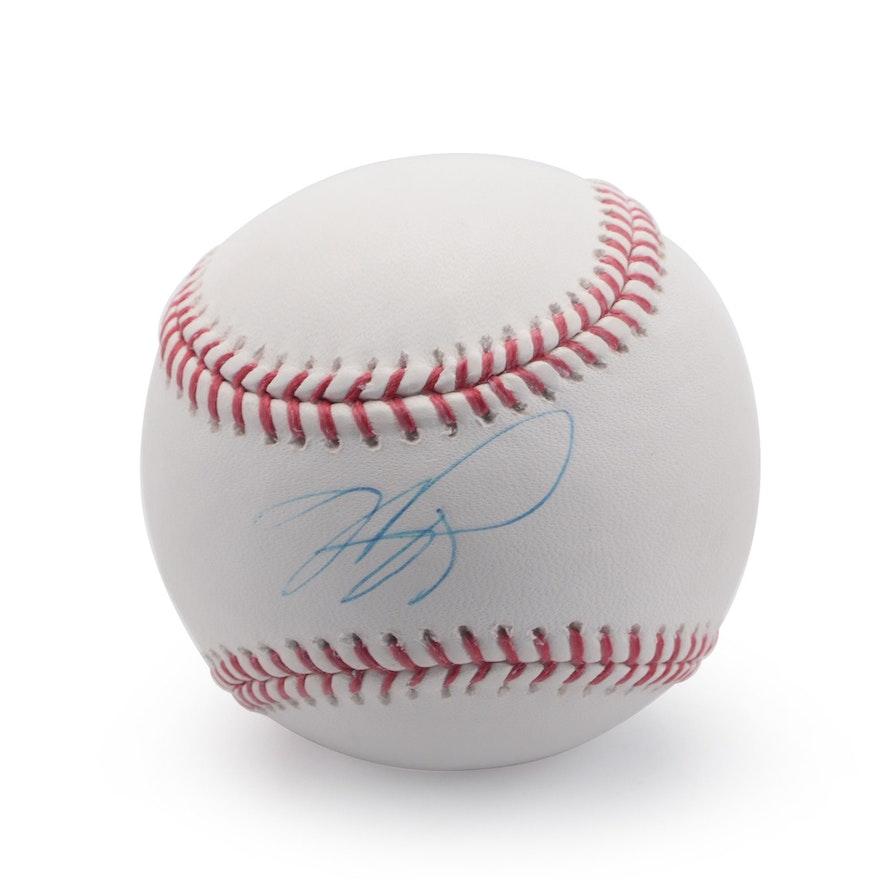 Mike Piazza Signed Rawlings Major League Baseball, MLB COA