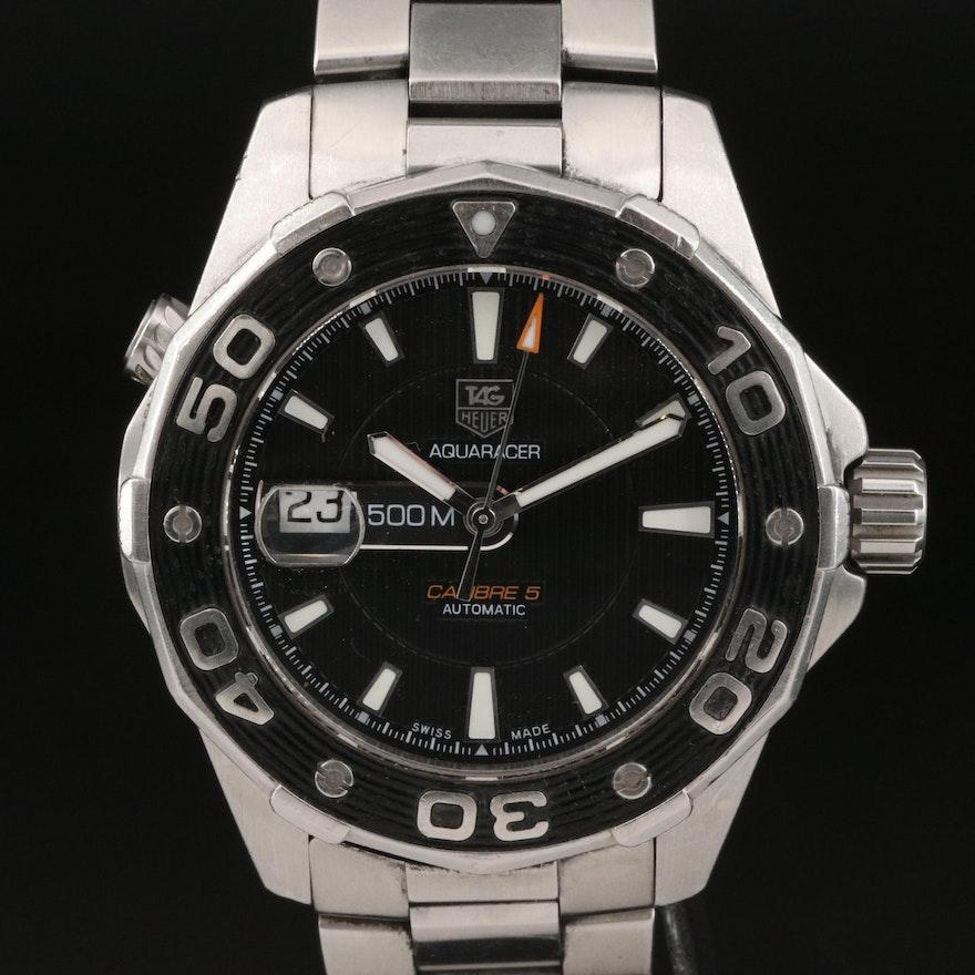 TAG Heuer Aquaracer 500M Automatic Wristwatch