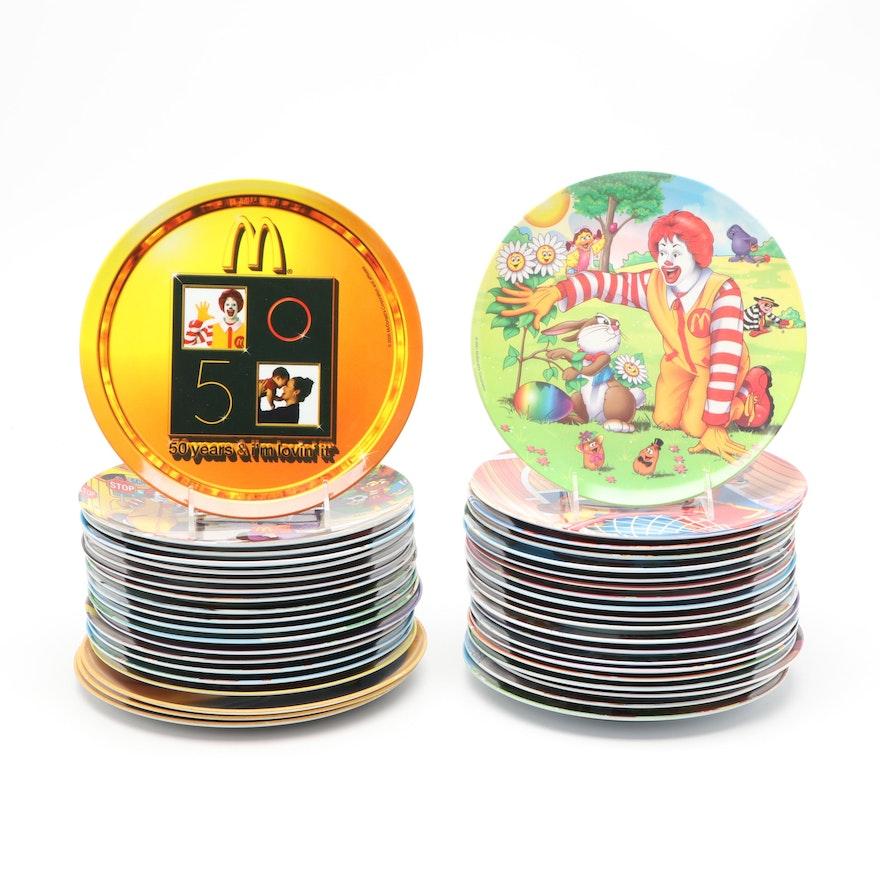 Sun Coast McDonald's Melamine Plates, Late 20th Century