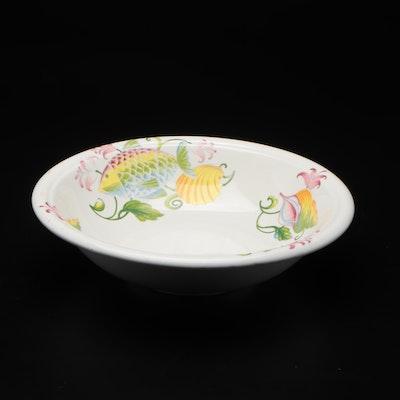Italian Hand-Painted Ceramic Bowl