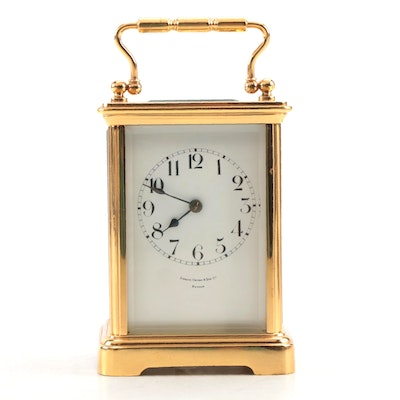 Shreve, Crump, and Low Co. Desk Clock, 20th Century