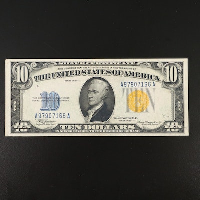Series of 1934A $10 Silver Certificate