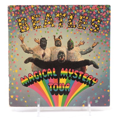 """The Beatles """"Magical Mystery Tour"""" Vinyl 45 RPM Records with Booklet"""