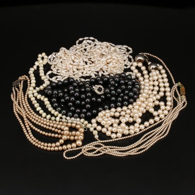 Repair and Scrap Jewelery Including 10K, Sterling and Pearls