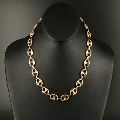 10K Mariner Chain Necklace