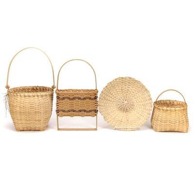 Handwoven Artisan Handled Baskets