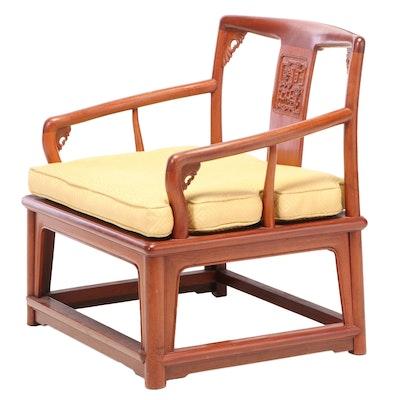 Duncan & Duncan Chinese Hardwood Armchair