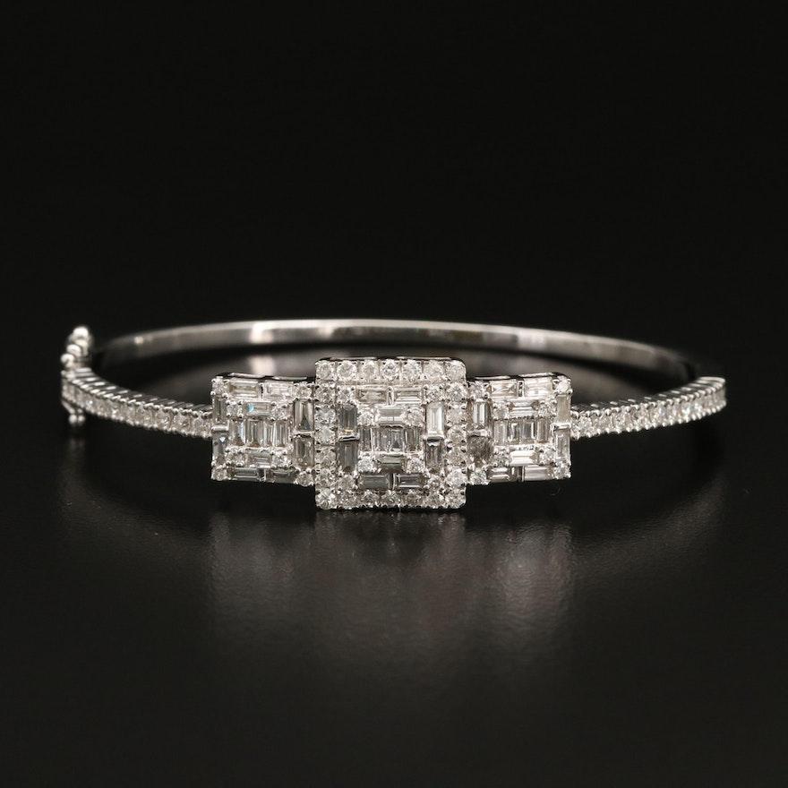 14K 2.77 CTW Diamond Bracelet