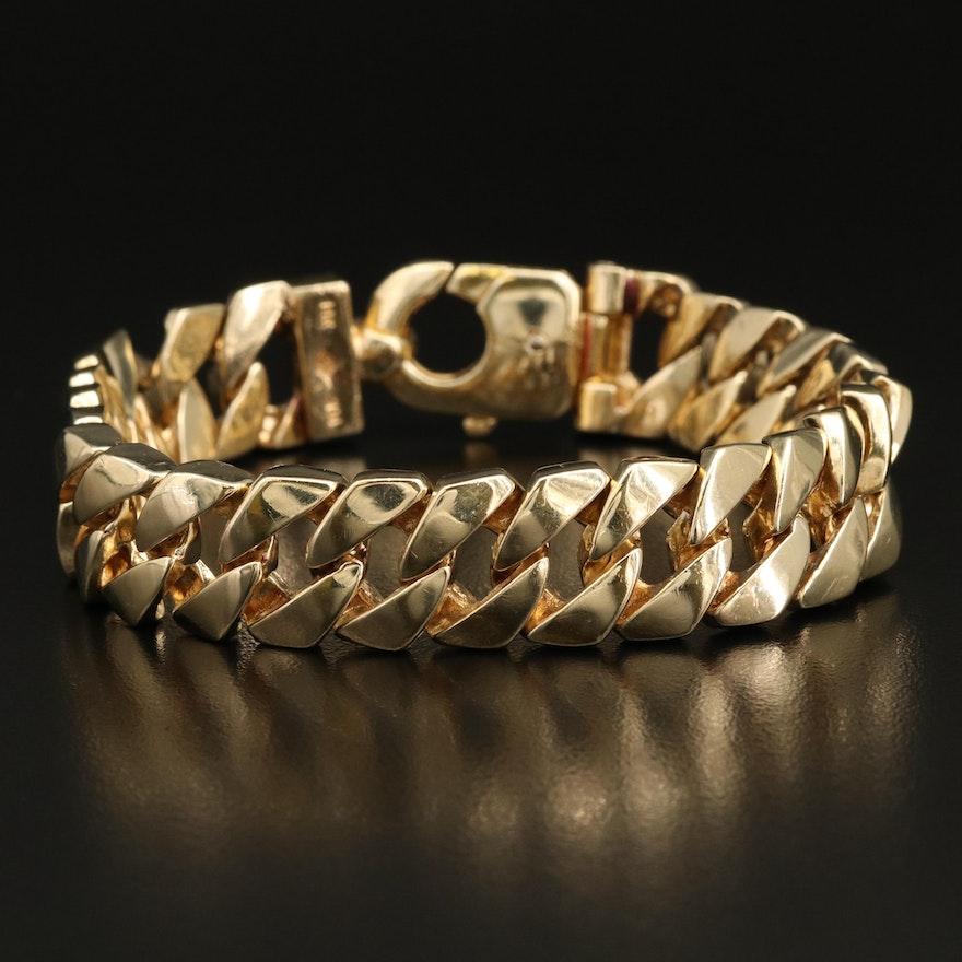 Braccio 14K Curb Link Bracelet