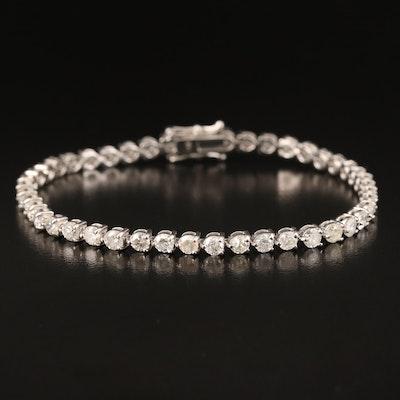 14K 5.17 CTW Diamond Line Bracelet