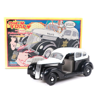 """Playmates """"Dick Tracy's Police Squad Car No. 5751"""" in Original Packaging, 1990"""