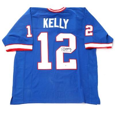 Jim Kelly Signed Buffalo Bills Signed NFL Replica Football Jersey, Beckett COA
