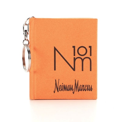 Neiman Marcus 101 Nm Orange Notebook Key Chain