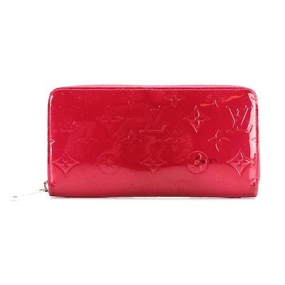 Louis Vuitton Zippy Wallet in Monogram Vernis