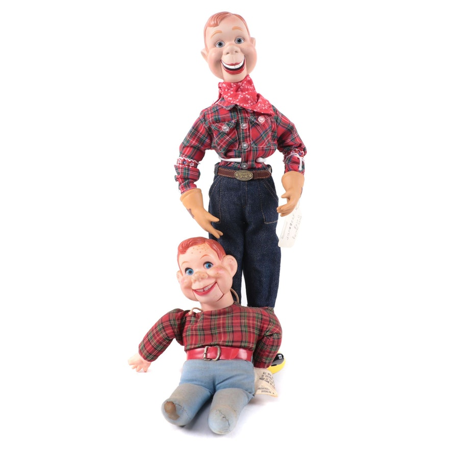 """Howdy Doody Dolls Including Stanton Arts """"50th Anniversary"""" Issue"""