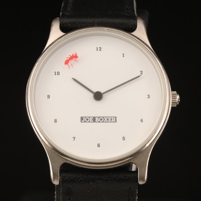 Joe Boxer Fire Ant Quartz Wristwatch