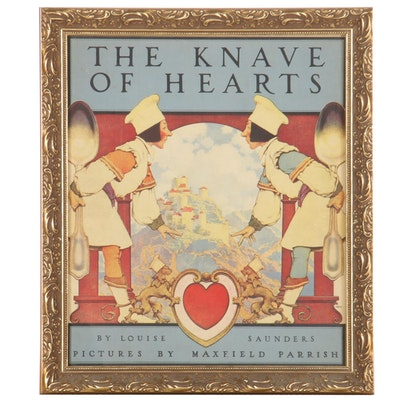 """Offset Lithograph After Maxfield Parrish """"The Knave of Hearts"""""""