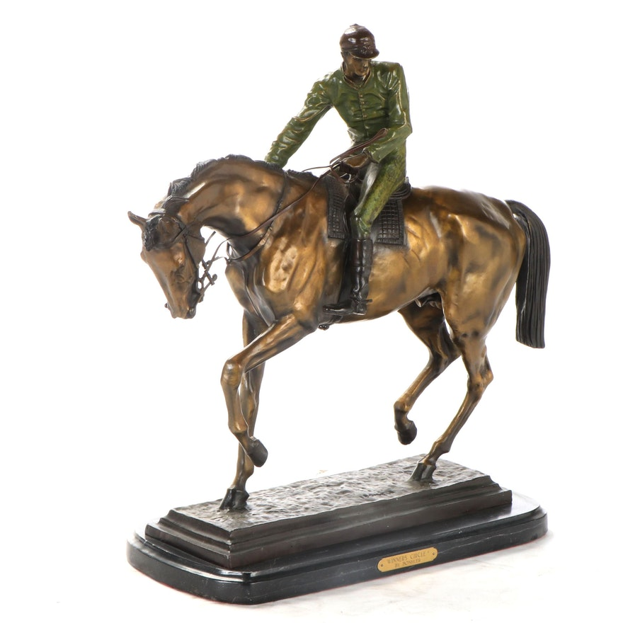 "Bronze Sculpture After Isidore Jules Bonheur ""Winner's Circle"""