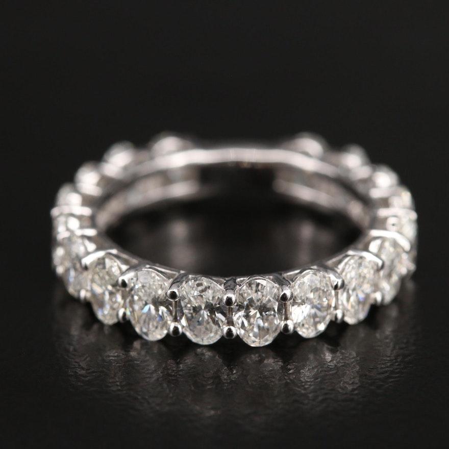 18K 2.80 CTW Diamond Band