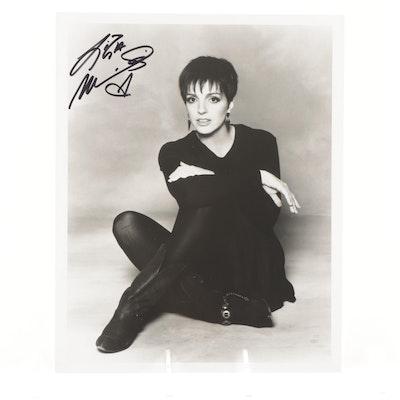 Liza Minnelli Signed Photo Print