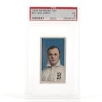 1909-1911 Bill Malarkey Buffalo T206 Piedmont 350 PSA Graded Tobacco Card
