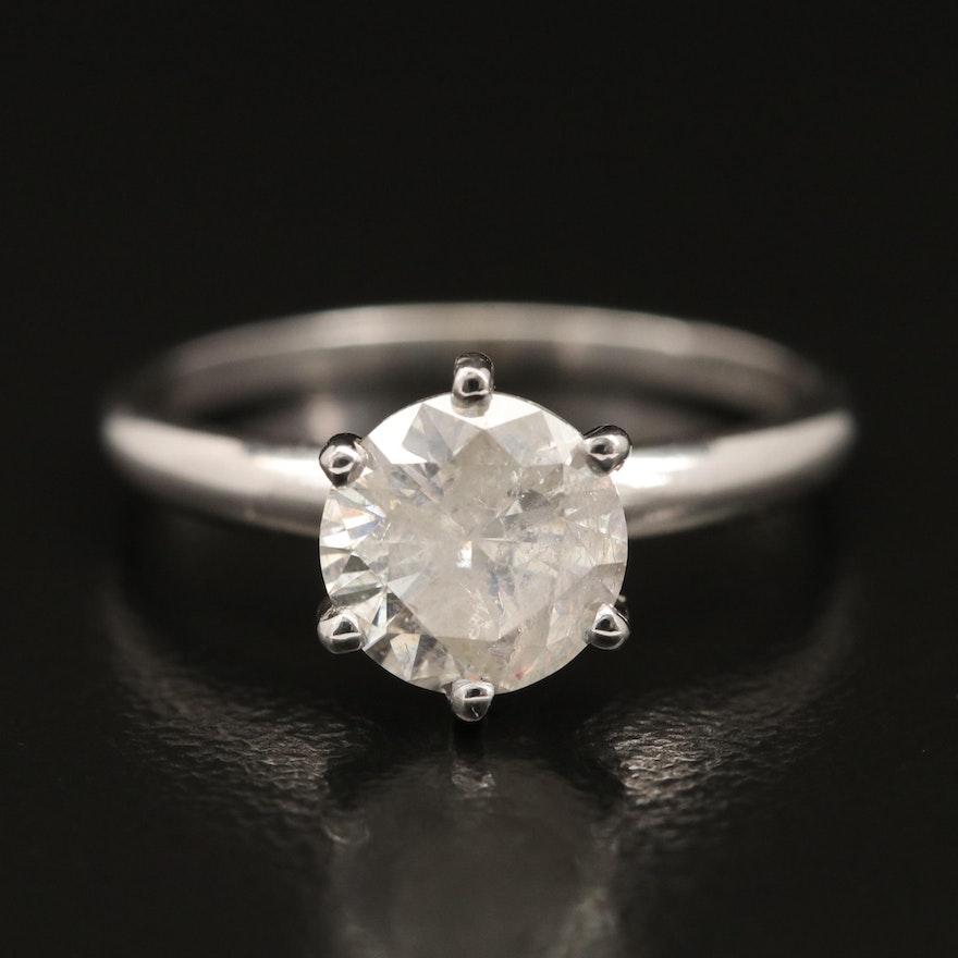 10K 1.50 CT Diamond Solitaire Ring