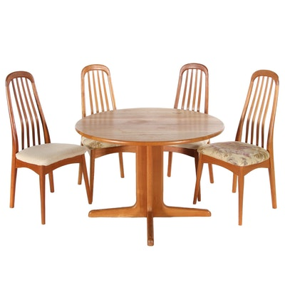 KD Furniture Tropical Hardwood Dining Set