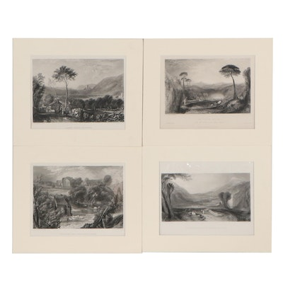 Landscape Engravings After Joseph Mallord William Turner