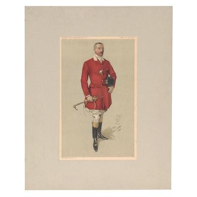 "Chromolithograph ""Lord Annaly"" for Vanity Fair, 1912"