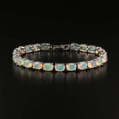 Sterling Opal Bracelet