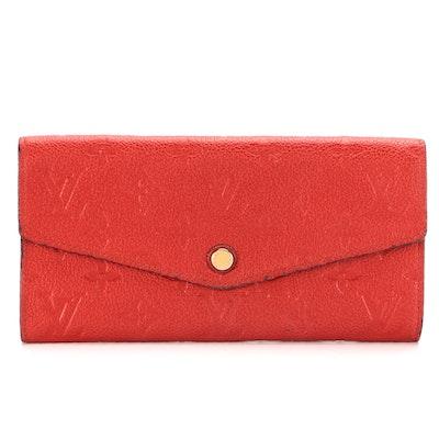 Louis Vuitton Curieuse Wallet in Monogram Empreinte Leather