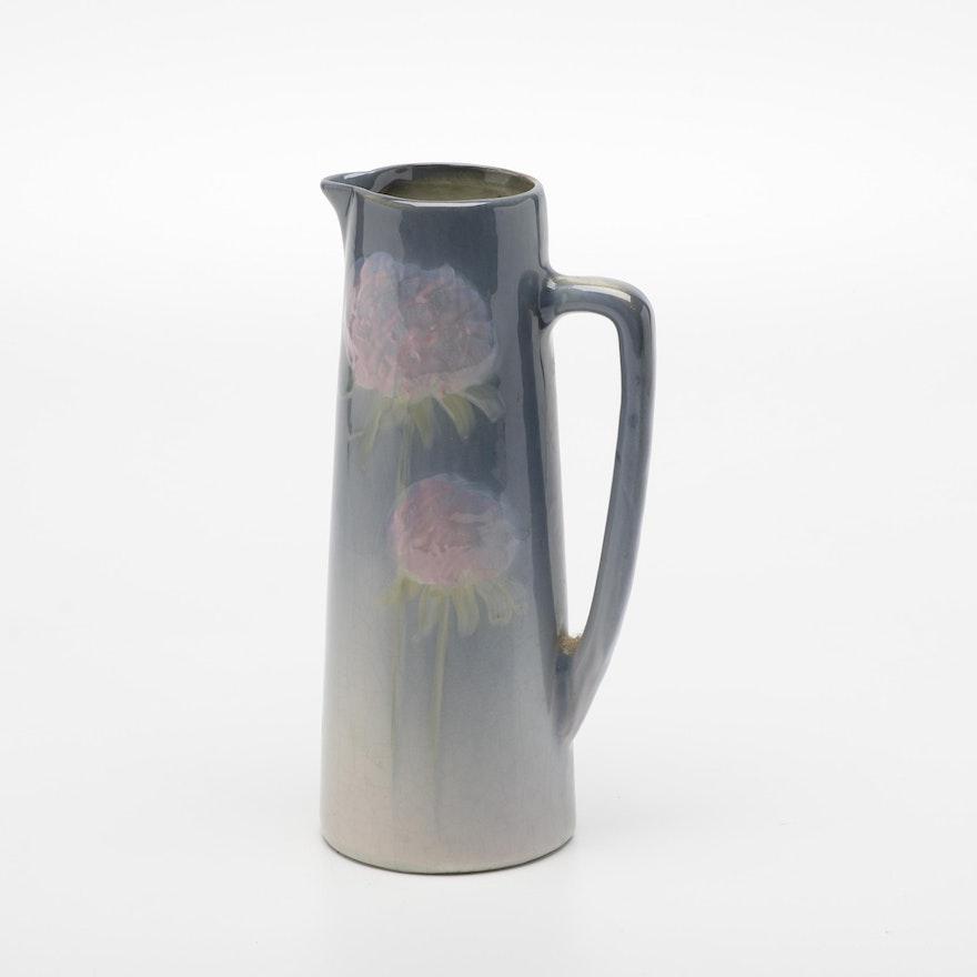"Weller Pottery ""Etna"" Ceramic Pitcher"