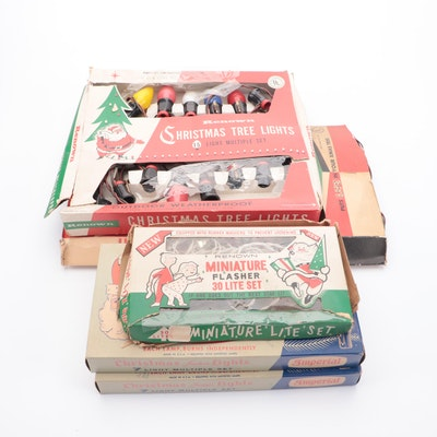 Renown, Imperial and Other Christmas Lights, Mid-20th Century