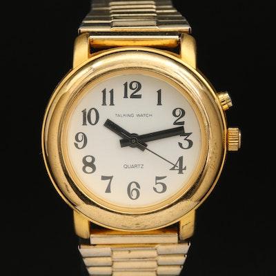 Talking Quartz Wristwatch