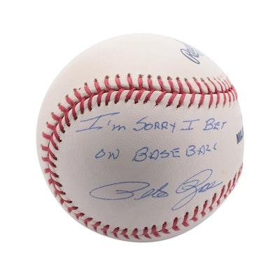 "Pete Rose Signed ""I'm Sorry I Bet on Baseball"" Rawlings Baseball, CEI COA"