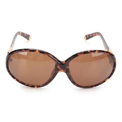 Louis Vuitton Z0266E Sunglasses in Tortoise with Case