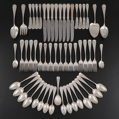 """Old Newbury """"Windsor"""" Hand Wrought Sterling Silver Flatware and Serving Utensils"""