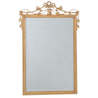 """Friedman Brothers """"The Philippe"""" Gilt Frame Wall Mirror"""