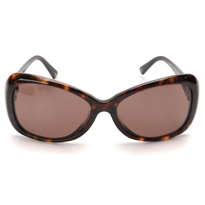 Chanel 5148-A Sunglasses in Brown Havana with Case