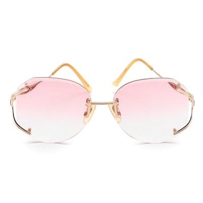 Yves Saint Laurent 30-5612 Prescription Rimless Sunglasses